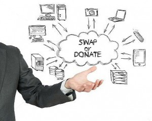 Swap-or-donate